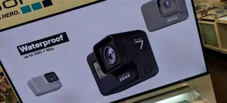 Vazam imagens das novas GoPro Hero 7, as câmeras esportivas sucessoras da Hero 6