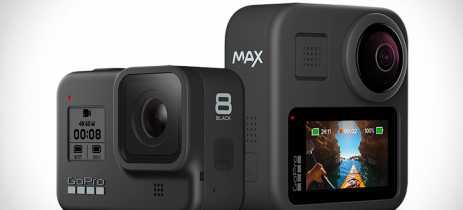 GoPro Hero 8 Black e GoPro MAX chegam ao Brasil por R$2.999 e R$3.799
