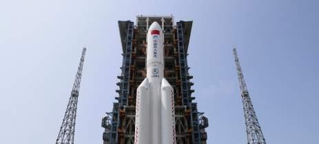 China realiza primeira missão para sua estação espacial nesta quinta