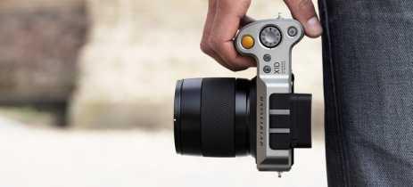 DJI está trabalhando em uma câmera mirrorless parecida com a Hasselblad X1D-50c