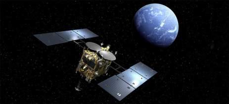 Nave japonesa com amostra de asteroide está retornando após quase 6 anos