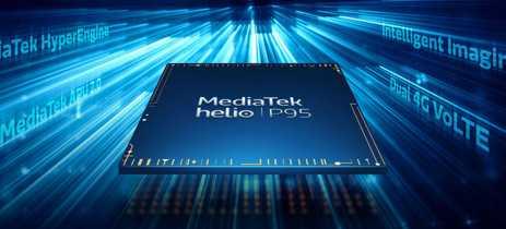 MediaTek anuncia SoC Helio P95 com tecnologias de IA e para games
