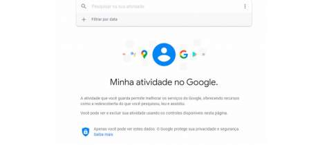 Google atualiza política de histórico de dados dos usuários