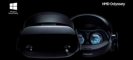Samsung anuncia o novo HMD Odyssey + com elementos visuais mais realistas