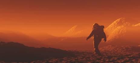 Túneis formados por lava podem servir de moradia em Marte, dizem cientistas