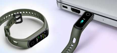 Honor Band 5i chegará ao mercado com conector USB-A para carregamento
