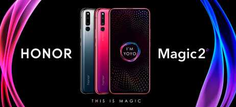Honor Magic 2 é anunciado com seis câmeras e slider