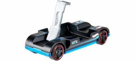 Hot Wheels lança carrinho Zoom In, que também é suporte para GoPro