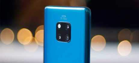 Novo update no Huawei Mate 20 Pro melhora fotos e desbloqueio facial