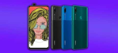 Huawei P Smart Z pode ser o primeiro smartphone da fabricante com câmera retrátil; Confira imagens