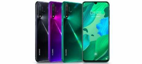 Huawei lança os smartphones Nova 5, Nova 5 Pro e Nova 5i