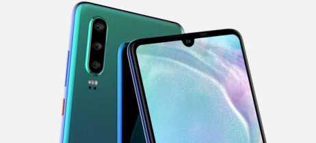 Série P30 da Huawei será lançada no dia 26 de março