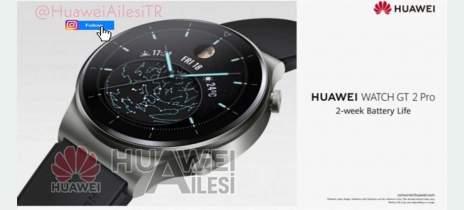 Huawei Watch GT 2 Pro: Vazam supostas imagens e specs do smartwatch