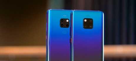 Huawei fala que câmeras dos modelos da linha Mate 20 são