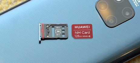 Cartões NM da Huawei são testados e têm desempenho similar aos microSD