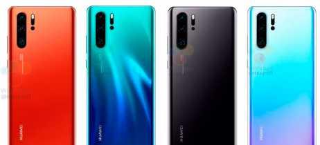 Huawei P30 e P30 Pro vão ser lançados dia 27 de março por €1024 no mercado europeu