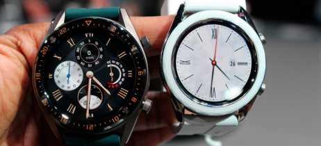 Huawei lança dois novos smartwatches, o Watch GT e Watch GT Elegant, a partir de €229