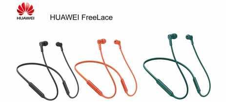 Huawei lança no Brasil fone Bluetooth FreeLace