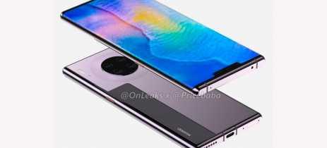 Vaza suposta renderização do Huawei Mate 30 Pro