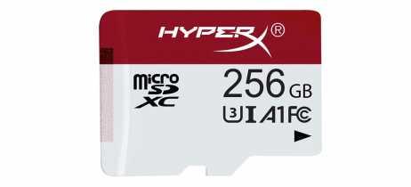 HyperX lança sua primeira linha de cartões de memória MicroSD para games