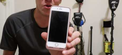 iPhone que passou 15 meses dentro de um rio continua a funcionar