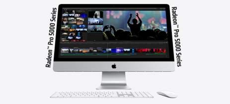 Placas Radeon Pro 5000 já estão disponíveis para iMac de 27 polegadas atualizado