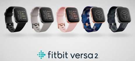 Fitbit anuncia o Versa 2, novo smartwatch com display AMOLED e compatibilidade com a Alexa