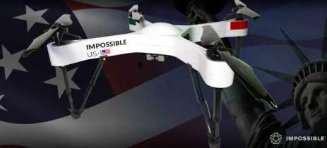 Empresa cria sistema de suporte aéreo com drones para emergências