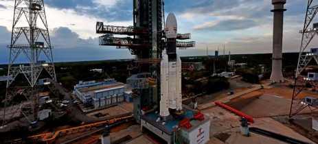Índia adia missão para a Lua uma hora antes do lançamento