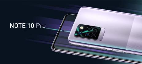 Infinix Note 10 e Infinix Note 10 Pro são anunciados com telas de 6,95 polegadas