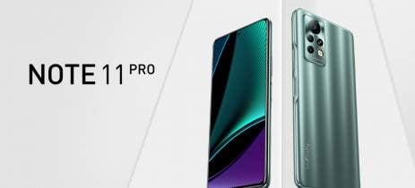 Smartphone Infinix Note 11 Pro é oficial com tela de 6,95 polegadas e 120Hz
