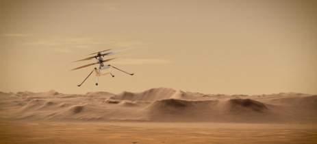 NASA marca novo teste de voo do Ingenuity em Marte para o dia 19 de abril