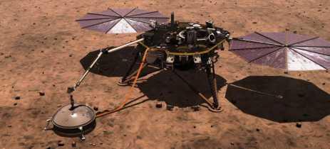 Sonda InSight da Nasa faz o primeiro registro de um terremoto em Marte