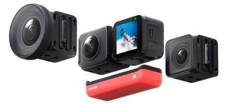 Veja teaser da câmera Insta360 ONE R com provável suporte para drones