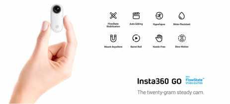 Insta360 GO é lançada como menor câmera vestível por US$ 199
