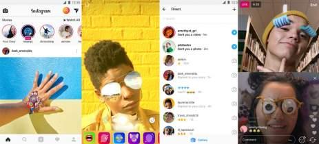 Stories do Instagram começam a ser exibidos no Facebook para alguns usuários