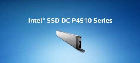Intel lança novos SSDs DC P4510 para servidores com 15,3TB de capacidade