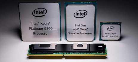Intel anuncia novos processadores Xeon