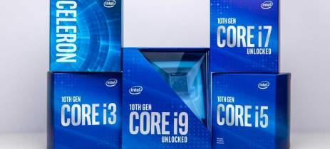 Intel anuncia processadores Core de 10ª geração com até 10 núcleos e 20 threads