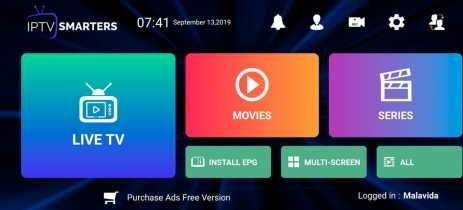IPTV Smarters Pro pode ser baixado novamente pela Play Store