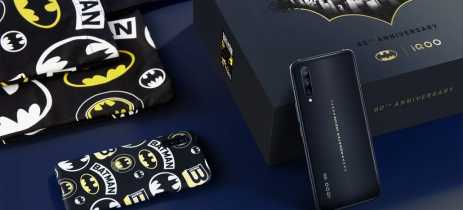 Fabricante chinesa Vivo lança o iQOO Pro 5G Batman Anniversary Limited Edition