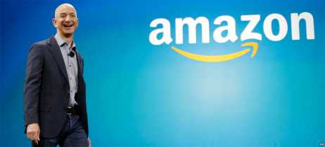 Jeff Bezos, CEO da Amazon, ganha US$ 231 mil por minuto