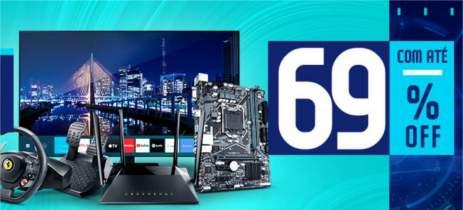 BeTech! DESCONTOS de até 69% neste final de semana no KaBuM!