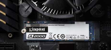 SSDs Kingston A2000 chegam ao mercado com tecnologias de ponta e preços acessíveis