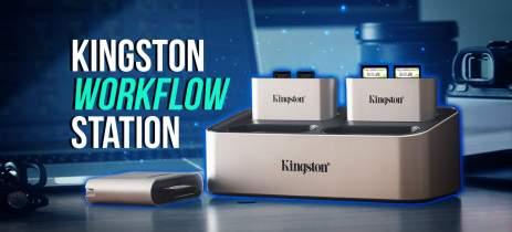 Kingston Workflow Station: dock promete melhoria no fluxo de trabalho dos criadores dos conteúdo