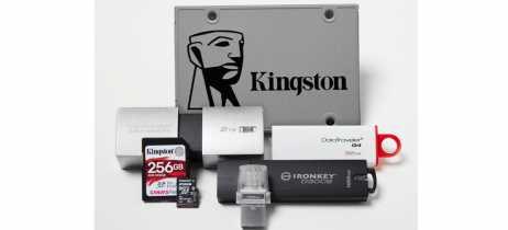 Kingston mostra soluções para armazenamento de dados doméstico e corporativo na CES 2019