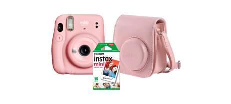 Instax Mini 11: Fujifilm lança Kit com bolsa personalizada