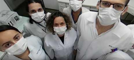 Video mostra em 360º graus um laboratório de pesquisa contra o novo coronavírus