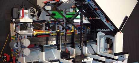 Máquina feita de Lego usa Inteligência Artificial para organizar outras peças
