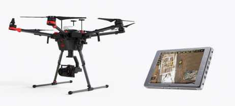 DJI e Leica Geosystems estão desenvolvendo novo drone Leica Aibot
